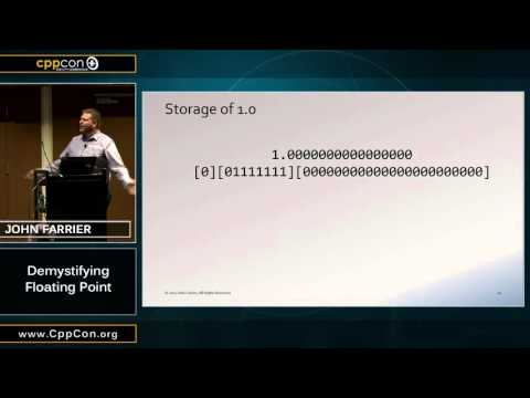 "CppCon 2015: John Farrier ""Demystifying Floating Point"""