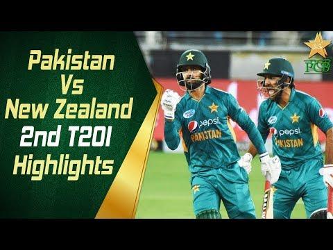 Pakistan Vs New Zealand 2018 | 2nd T20I | Highlights | 2 November 2018 | PCB thumbnail