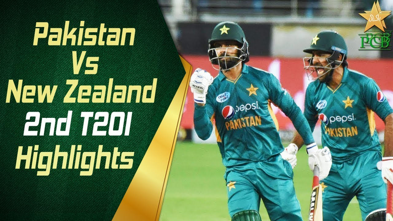 Pakistan Vs New Zealand 2018 | 2nd T20I | Highlights | PCB