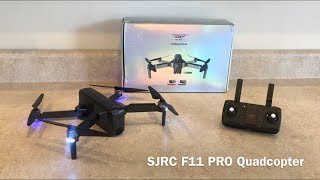 SJRC F11 PRO Drone Review (TomTop)