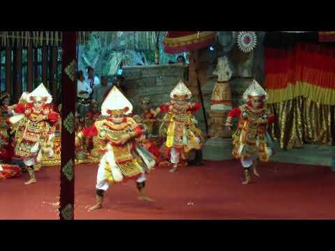 Tari Bali Baris Banggana Manggala Yuda Dari Sanggar Gema Katon Jaya Denpasar