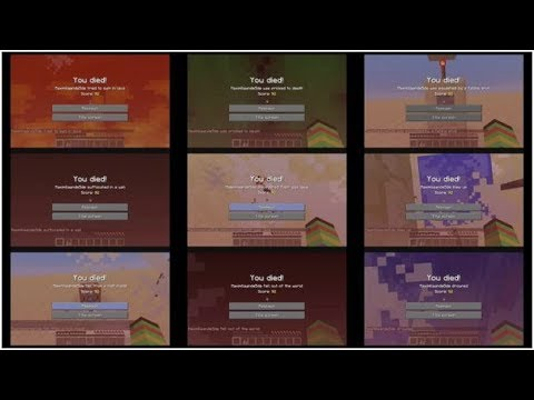 [EN] Minecraft - All Death Messages