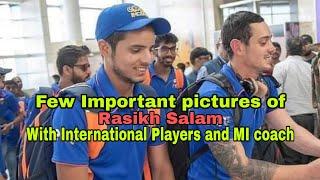 Rasikh Salam's few important pictures during IPL 2019 so far | JKSportstime