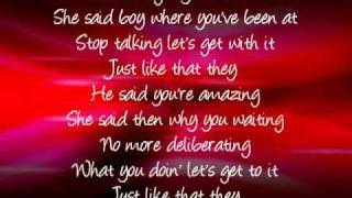 He Said She Said, Ashley Tisdale [lyrics]
