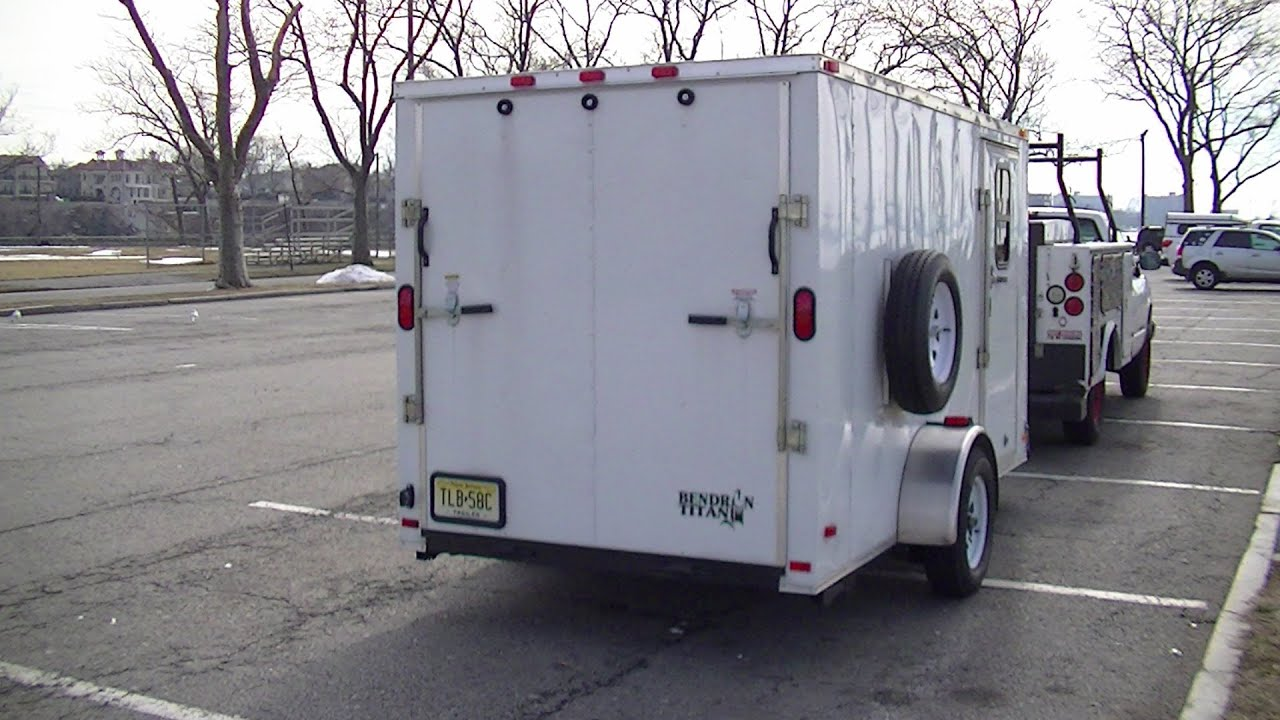 Bug Out Vehicle Cargo Trailer Stealth Camper Part 1