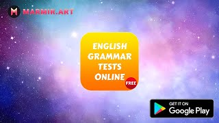 English Grammar Tests Online - Quiz and Theory