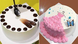 Amazing Cake Decorating Tutorial Like a Pro  Yummy Chocolate Cake Decorating Recipes  Cake Design