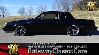 1987 Buick Regal Grand National, Gateway Classic Cars-Nashville#692