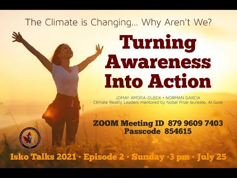 Climate is changing. Why aren't we? Turning Awareness into Action.