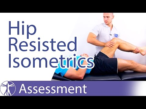 Resisted Isometric Testing (Hip Joint)