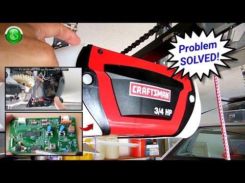 garage-door-opener-troubleshooting-&-repair(sears/liftmaster)