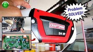 Easily Repair Sears Craftsman(Liftmaster) Garage Door Openers