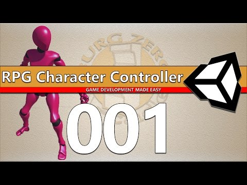 RPG Character Controller 001 - Unity 5 Root Motion