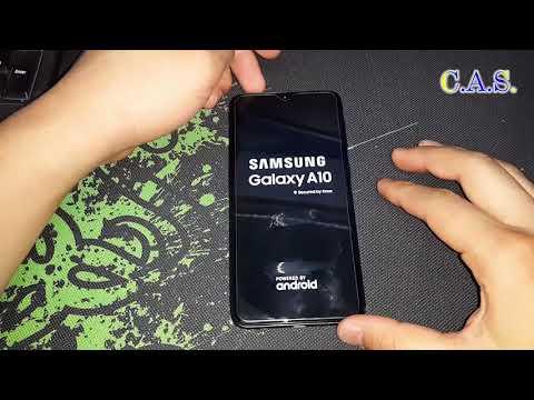 Samsung A10 A105F - Hard Reset, сброс телефона, графический ключ, заблокирован