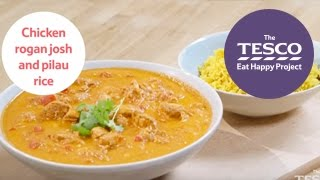 Chicken Rogan Josh And Pilau Rice In 14 Minutes - Eat Happy Project Recipes For Children