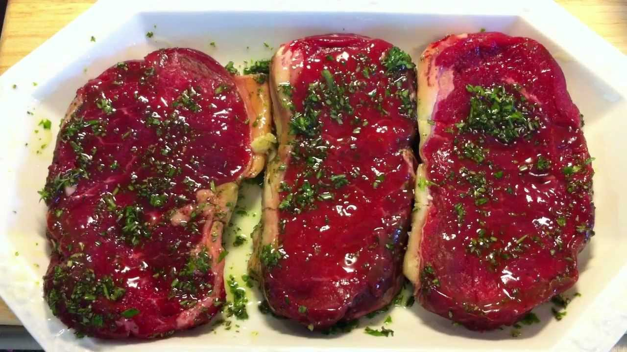 Steak marinade selber machen