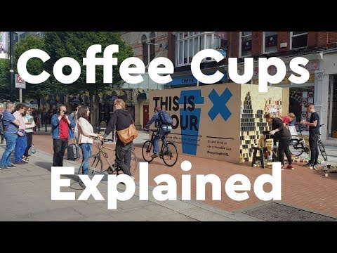 Ireland wastes 22,000 coffee cups per hour