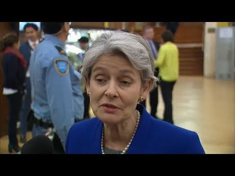 Director-General Irina Bokova on US withdrawal from UNESCO