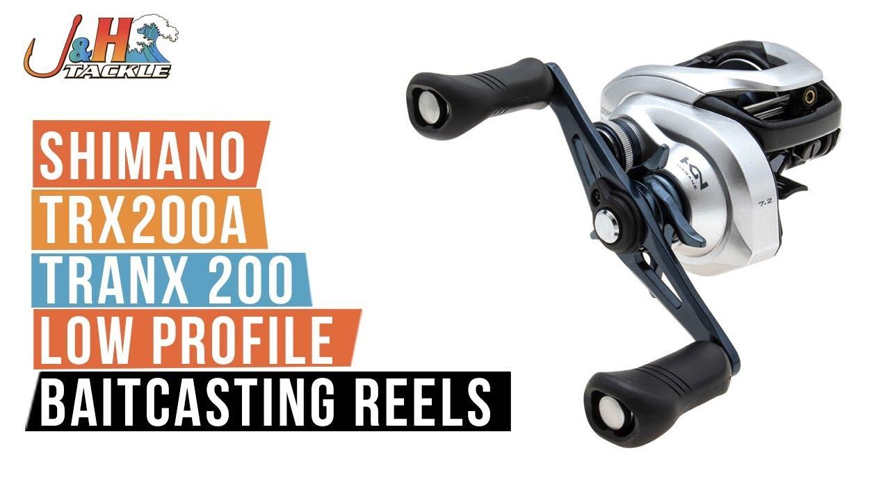 Shimano Curado 200 K Baitcasting Reels Bass /& Inshore Fishing Casting Reel
