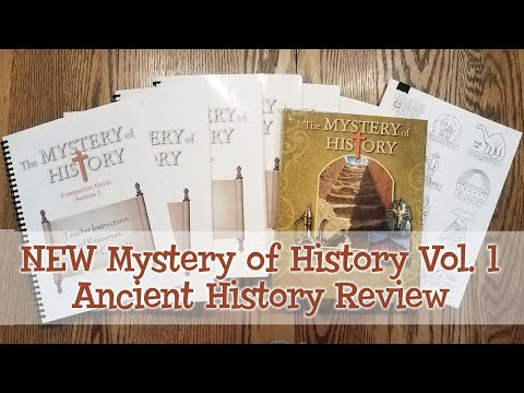 NEW Mystery of History Volume 1 Ancient History Homeschool Curriculum Review