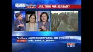 The Newshour Debate: Jail time for Asaram? - FULL DEBATE