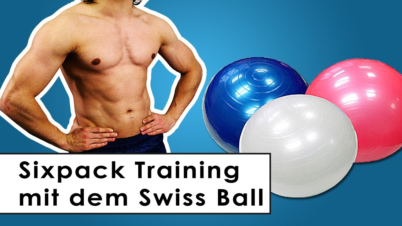 Lieblings Sixpack Training - Bauchmuskel Übungen mit dem Gymnastikball - YouTube @ZV_34