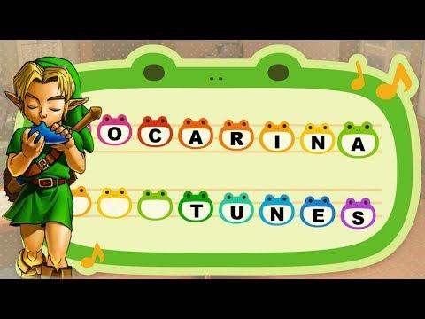 All Zelda Ocarina Tunes For Animal Crossing New Horizons! (OOT \u0026 MM)