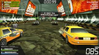 Burnin' Rubber 5 - Equipo Police - Taxi VS Equipo Mammoth