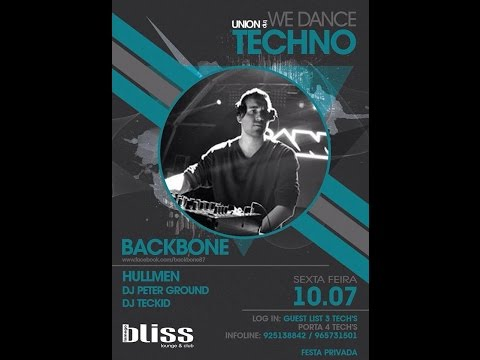 DJ TECKID@HARDGROOVE SET - BLISS - LAMEGO - UNION TRIP - WE DANCE TECHNO