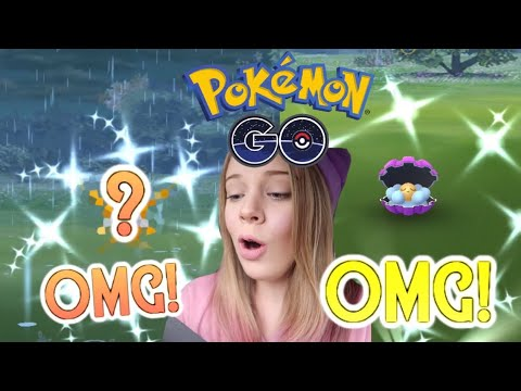 I CAUGHT THE BEST SHINY IN POKEMON GO! + Shiny Clamperl Limited Research Day Vlog!