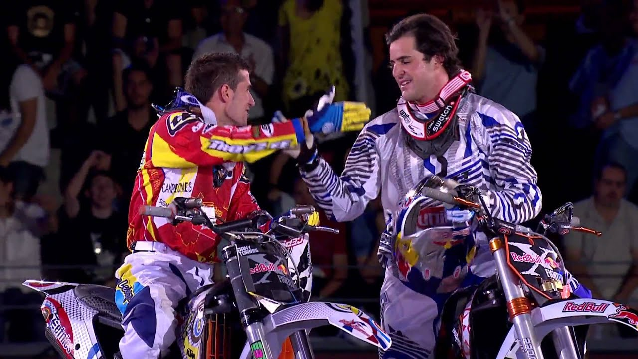 Red Bull X Fighters >> Robbie Maddison wins Red Bull X-Fighters Madrid 2010 - Event highlights - YouTube