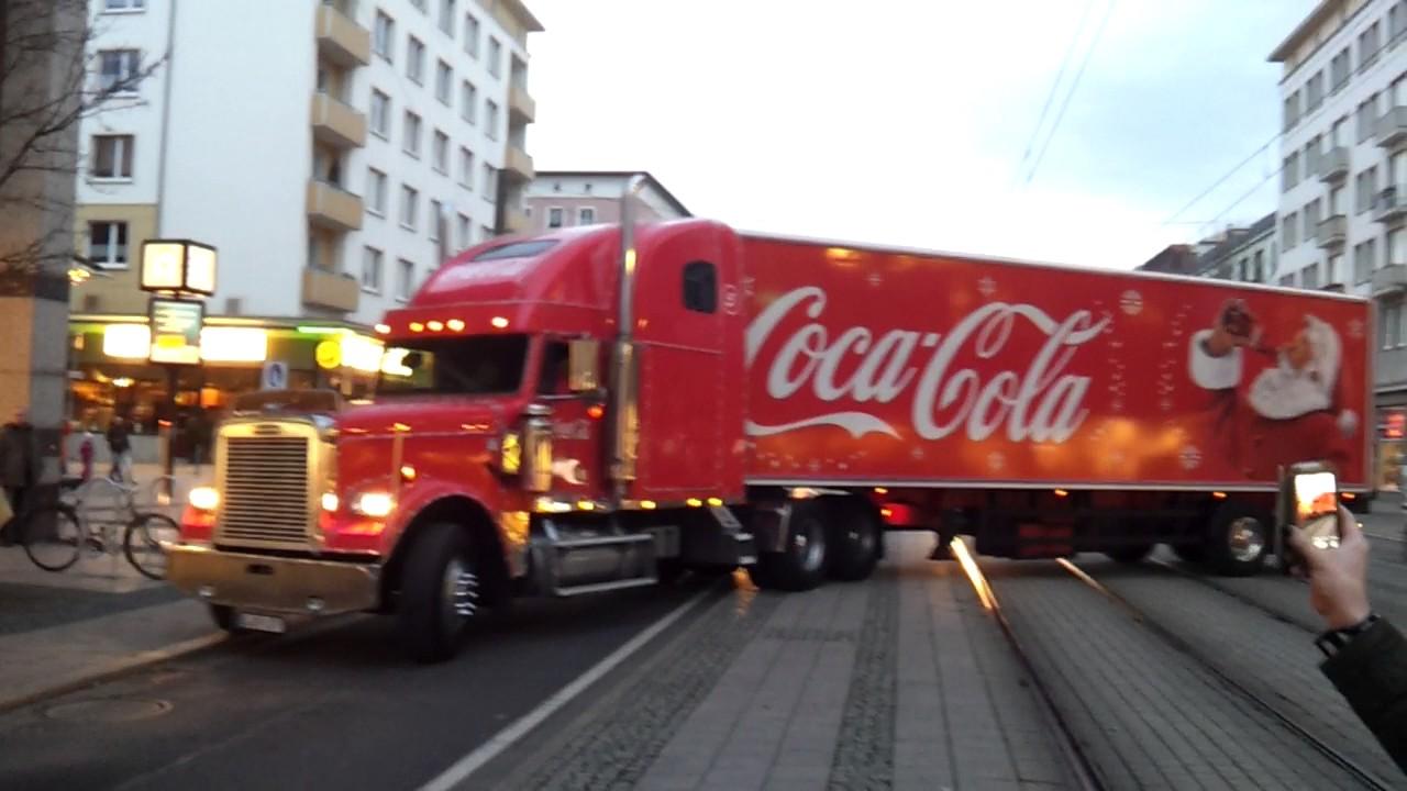 Coca Cola Weihnachtstruck Abfahrt Magdeburg Ulrichplatz 08122016