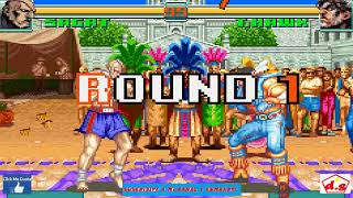Super Street Fighter II Turbo Revival   Sagat   Game Boy Advance