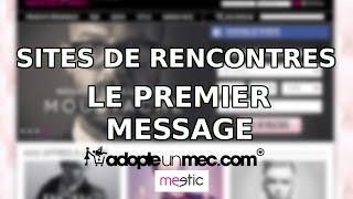 Comment réussir votre premier message sur les sites et applications de rencontres
