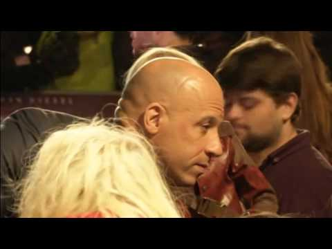 Vin Diesel works his magic at the European premiere of The Last Witch Hunter