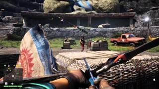 Far Cry 4 Bow and Arrow Kills