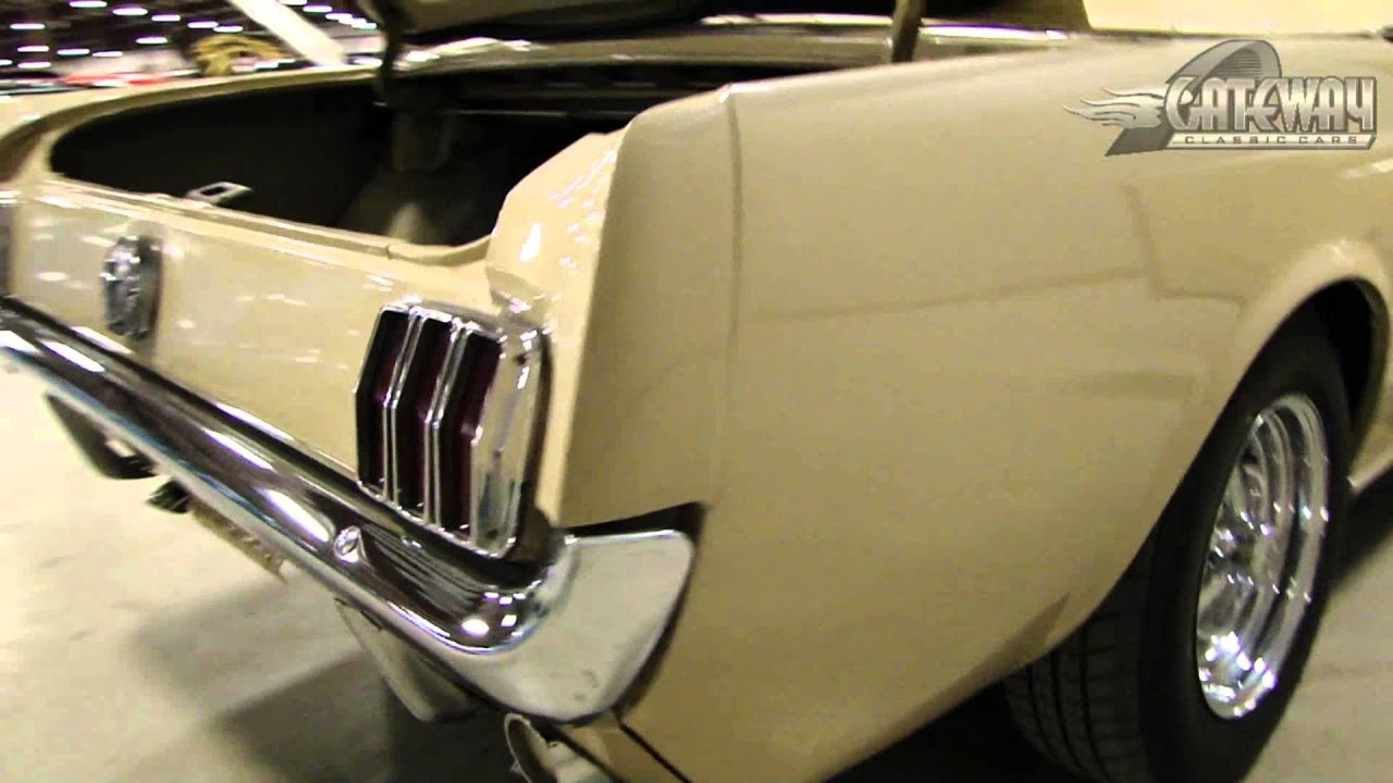 1966 ford mustang convertible for sale in our louisville showroom youtube. Black Bedroom Furniture Sets. Home Design Ideas