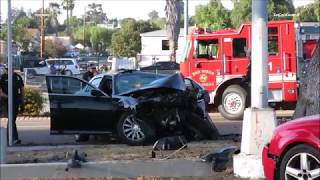 Juveniles Crash Stolen Car After Evading Police 10/9/2017