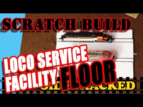 S027 (PT2) How I Scratch Built A Loco Service Facility On My Model Railroad Layout model railroading