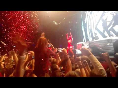 Yellow Claw - Blood Diamond Feat. Serebro live Space Moscow