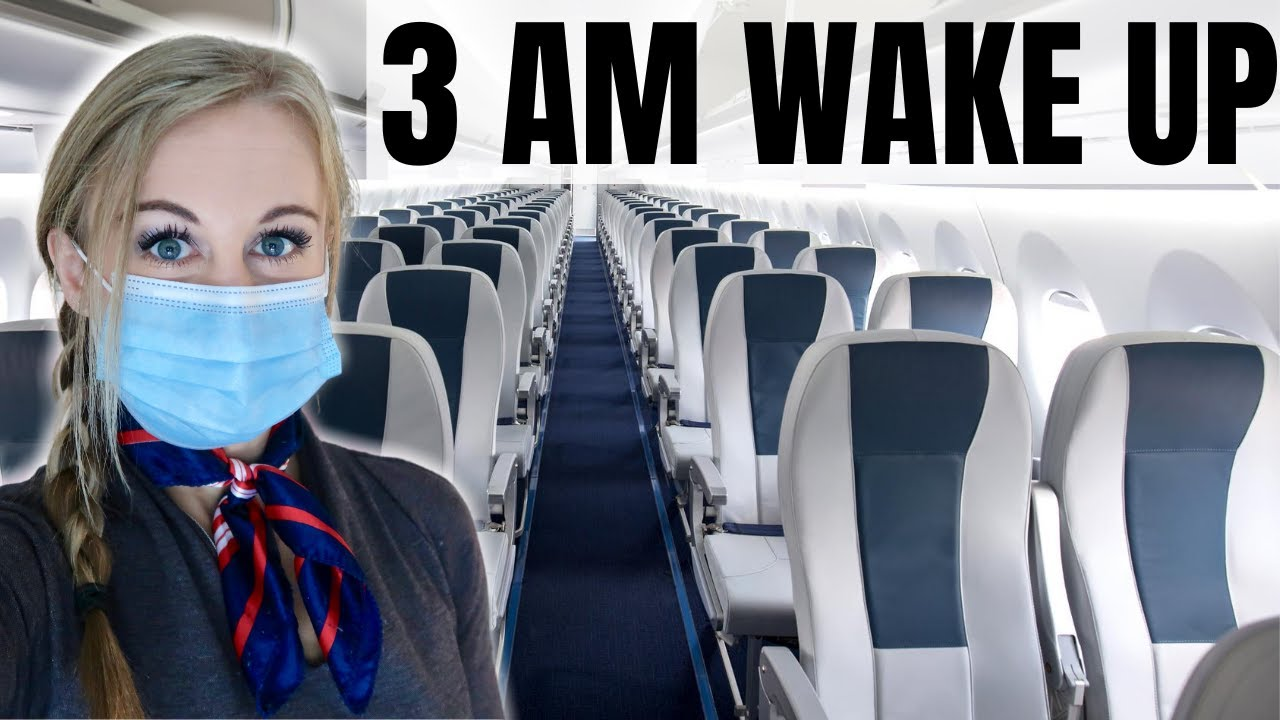 An EARLY MORNING Airport Standby Shift | FLIGHT ATTENDANT LIFE