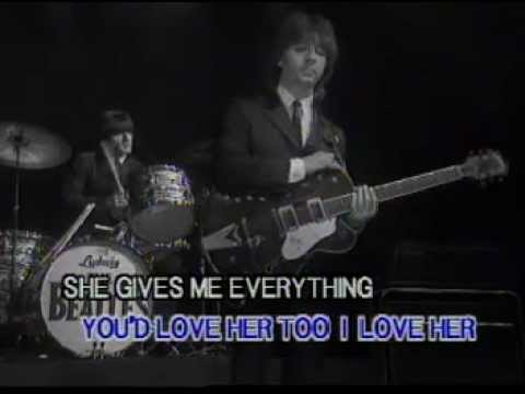 The Beatles - and i love her ( clip subtitles )