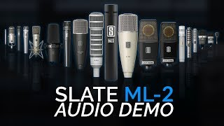 Slate Digital ML2 Microphone Review and Sound Test