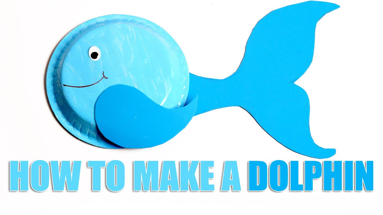 Dolphin Arts And Crafts For Preschool