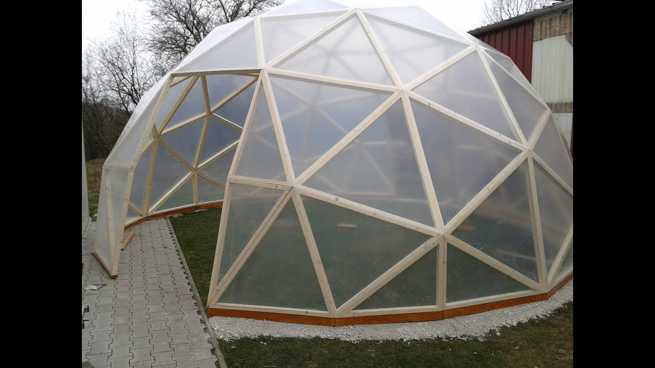 dome gew chshaus geod tische kuppel buckminster fuller dome youtube. Black Bedroom Furniture Sets. Home Design Ideas