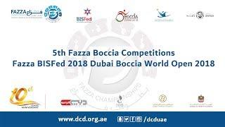 HONG KONG Vs THAILAND (TEAM) 5th Fazza International Boccia Competitions 2018)