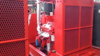"HALLIBURTON HT400 PUMP WITH 4-1/2"" PLUNGERS"