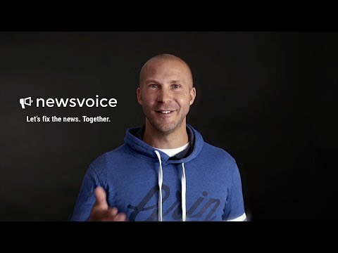 Newsvoice – Let's fix the news. Together.