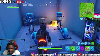 SECRET HIDDEN ROOM FORTNITE SAISON 4!? (LIEUX SECRETS)