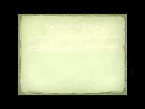 lecture 1 what is the bitcoin